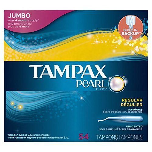 Tampax Pearl Plastic Tampons Regular Absorbency Unscent Https Www Amazon Com Dp B001lk6xi6 Ref Cm Sw R Pi Dp X Rp1iybjy63741 Tampax Pearl