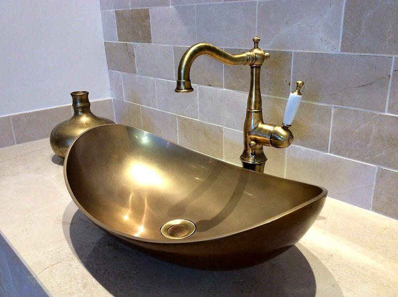 Bathroom Sinks Dublin bagno design bronze basin in tilestyle | tilestyle bathroom