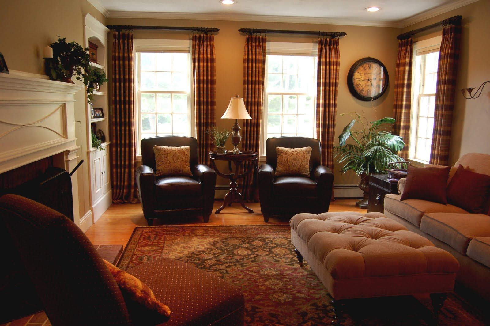 living room ideas with dark brown leather furniture - google