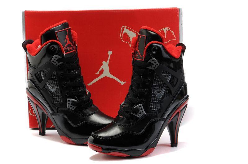 d0a15391474239 Women s Air Jordan 4 High Heels