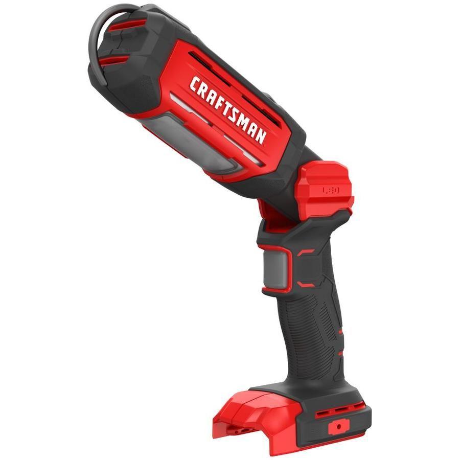 Craftsman V20 20 Volt Max 700 Lumen Led Rechargeable Power Tool Flashlight Cmcl050b In 2020 Craftsman Work Lights Flashlight
