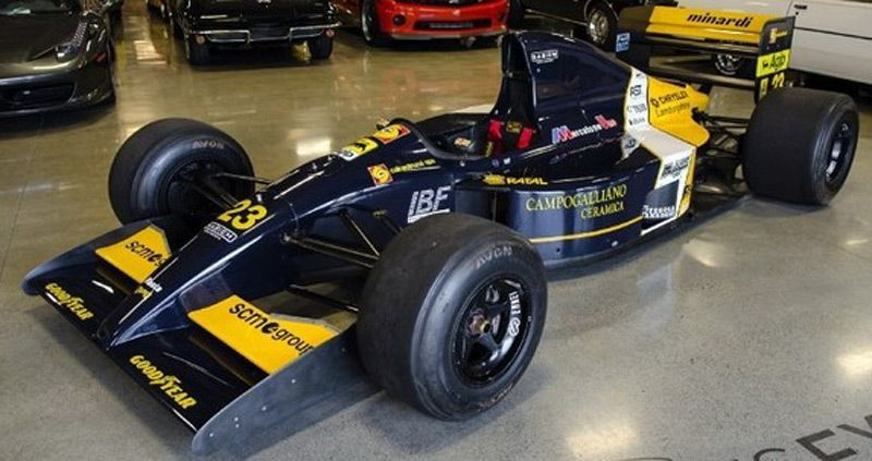 Lamborghini Minardi F1 For Sale Formula One I Ll Add Some Indy