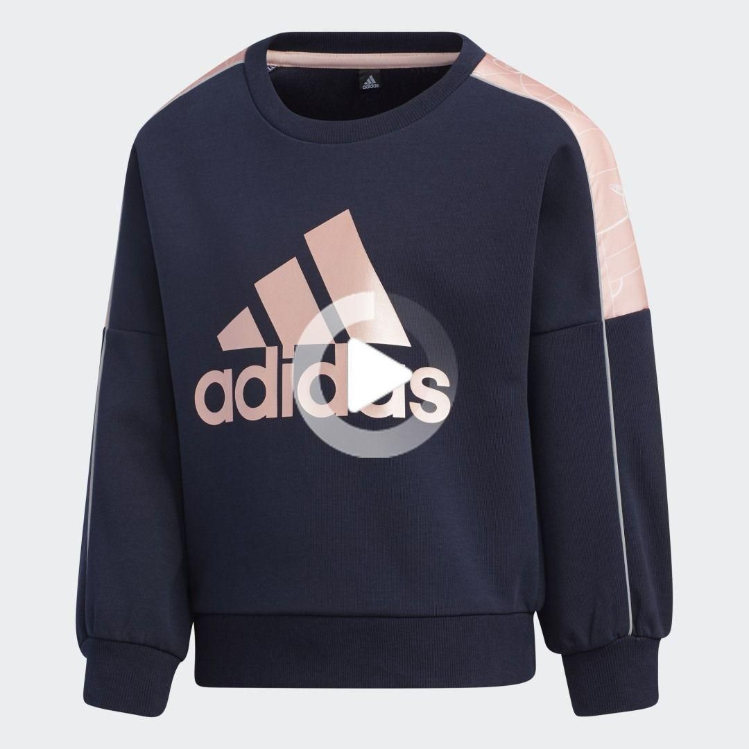 Lightweight Knit Sweatshirt In 2020 Sweatshirt Sportlich Adidas [ 1080 x 1080 Pixel ]
