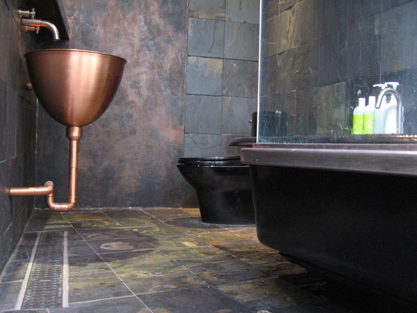 Industrial Chic Bathroom Design Idea Part 58
