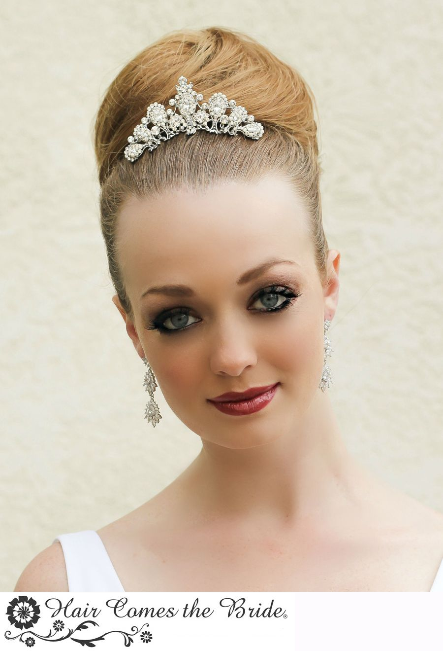 one style ~ 8 ways.top knot bun hairstyle | bella bridal