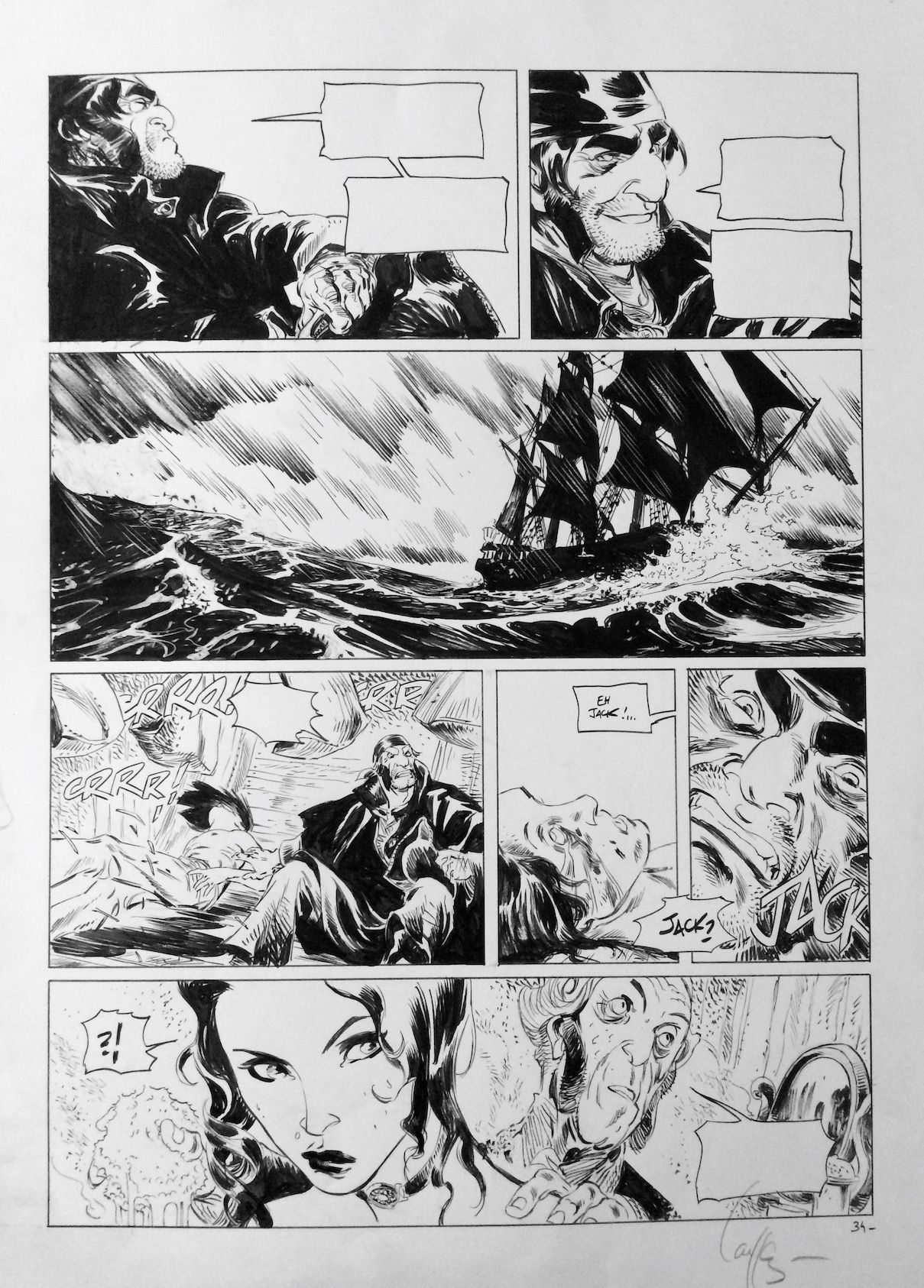 Long John Silver #2 by Mathieu Lauffray - Comic Strip