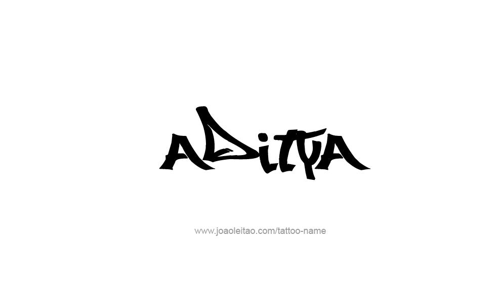 Aditya Name Tattoo Designs In 2020 Name Tattoo Designs Name Tattoos Name Tattoo
