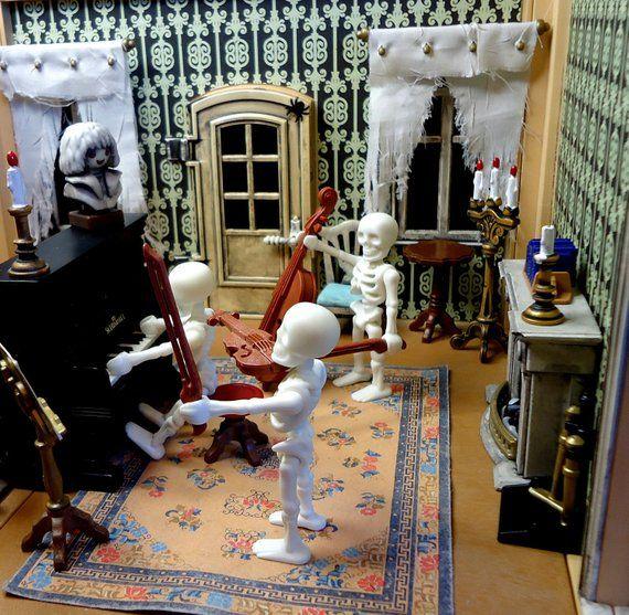 playmobil haunted halloween victorian mansion 5300 custom