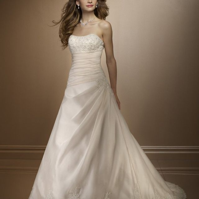 Aline Wedding Gown: Aline Wedding Dresses On Pinterest