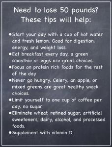 how to kick start a weight loss program