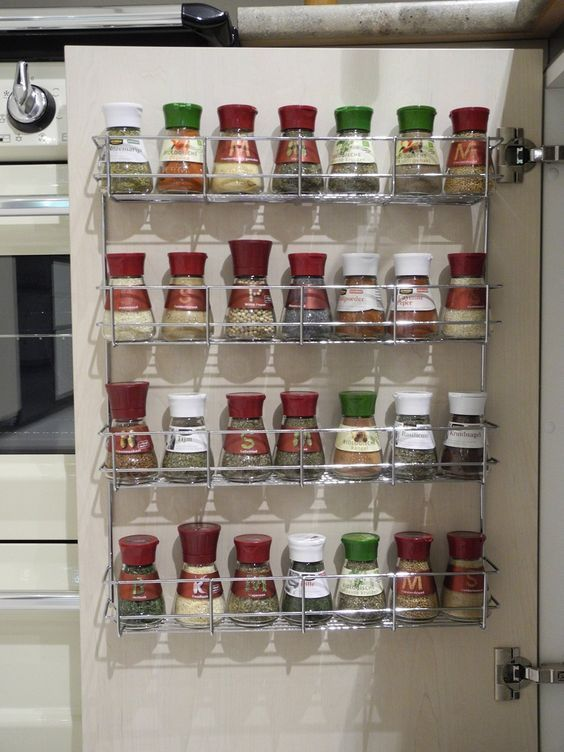 50+ clever ideas to organize a small kitchen to free up so much space