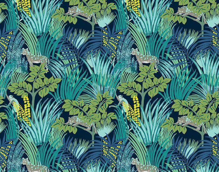 Tendance Foret Tropicale Papier Peint Papier Peint Jungle Et