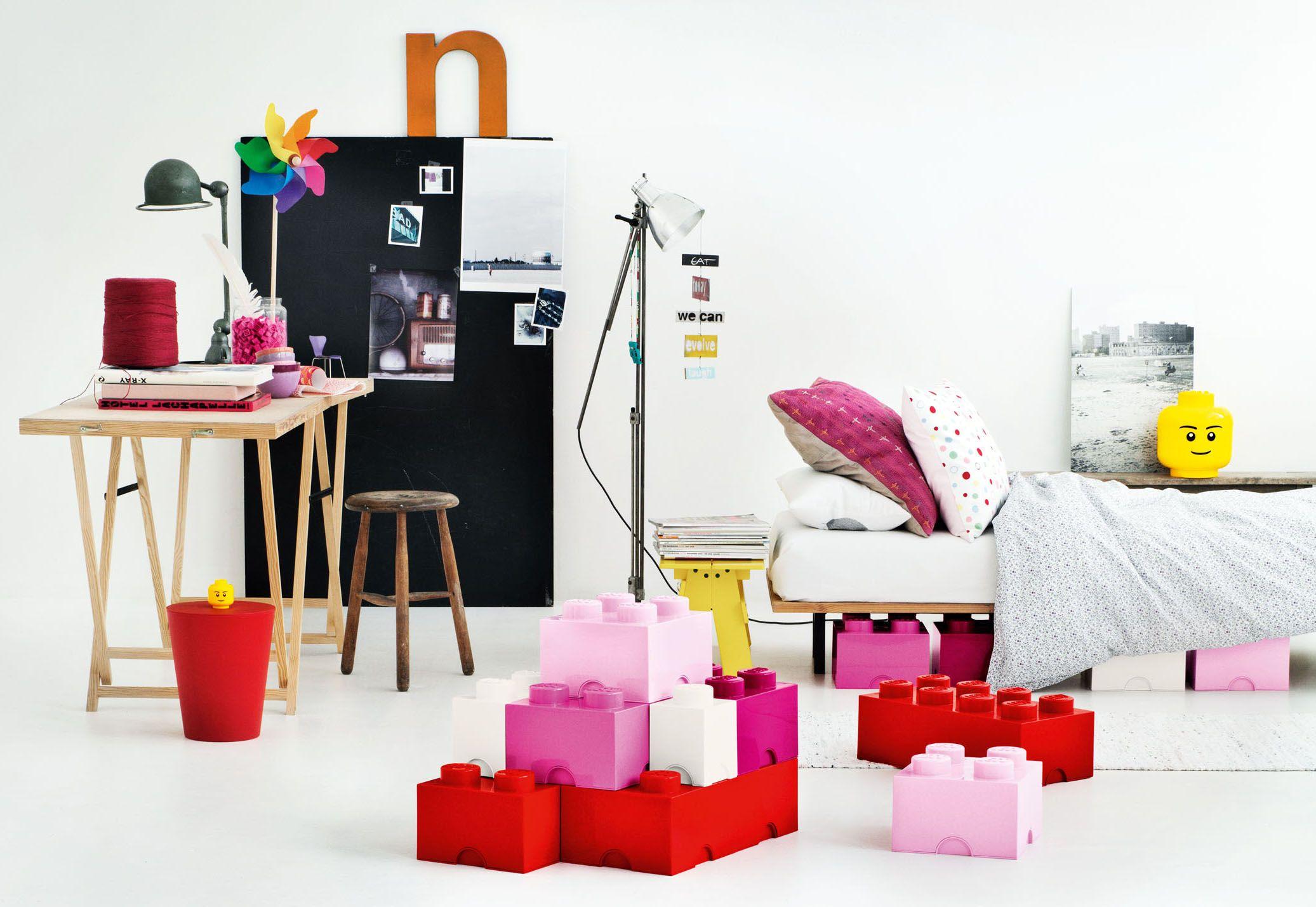 Cajas almacenaje lego decoraci n infantil cajas almacenaje interiores y habitaciones infantiles - Caja almacenaje infantil ...