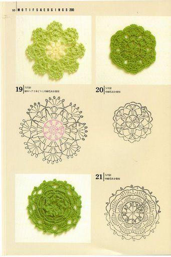 單元花,連鉤花,拼花技巧 - Vivian Chung - Álbuns da web do Picasa