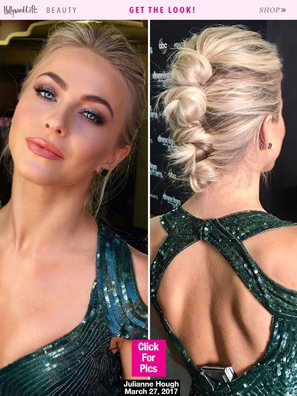 Julianne Hough Literally Wore Her Hair In Knots On 'DWTS' — Love Or Loathe?