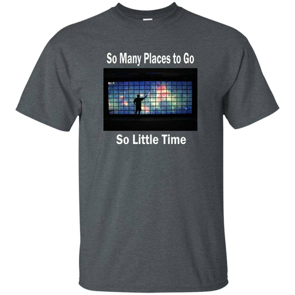 So Many Places to Go Custom Ultra Cotton T-Shirt