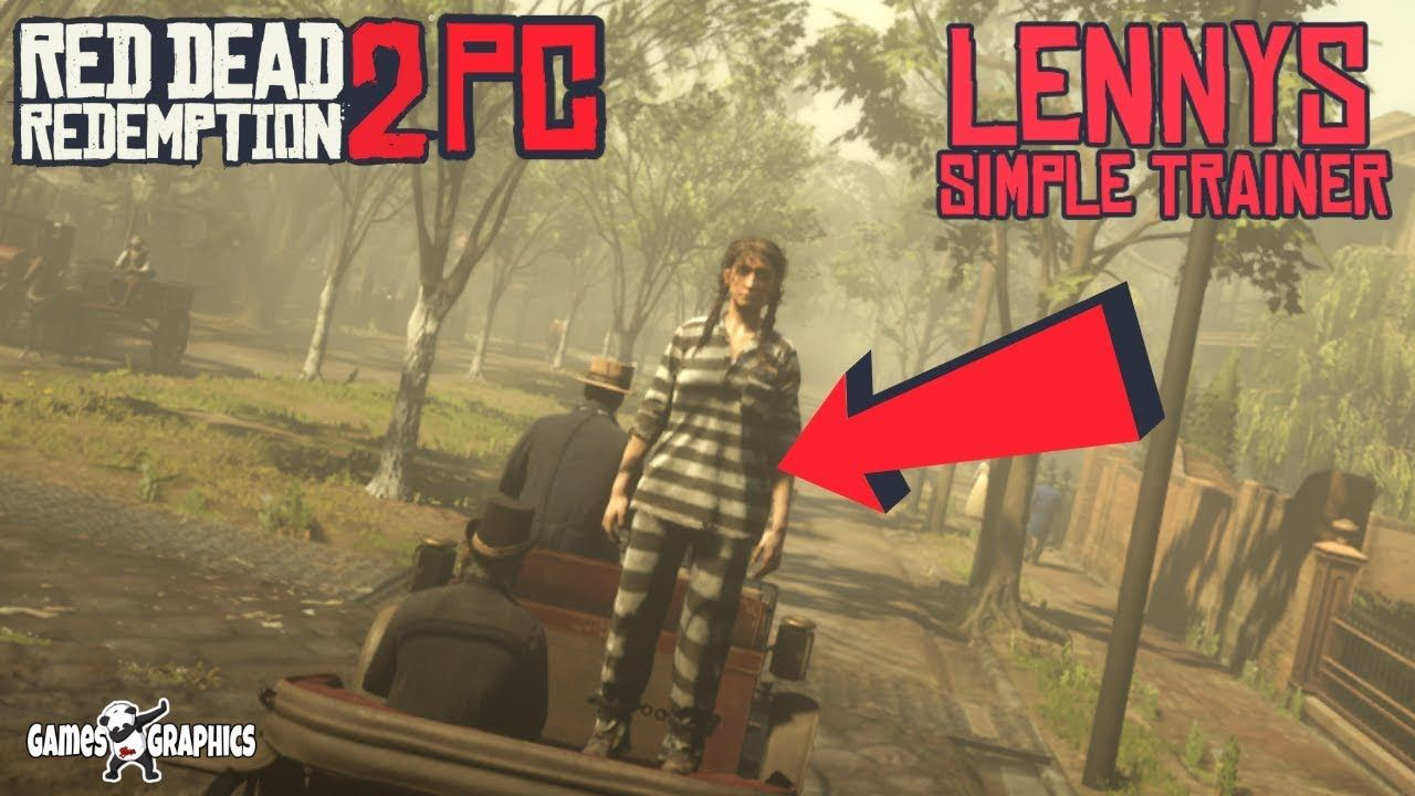 How To Install Lennys Simple Trainer 2019 Rdr2 Pc Mods Trainer Games Youtube Social Sites