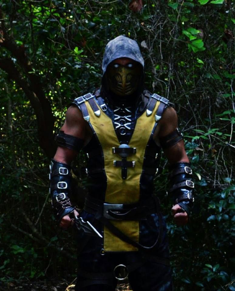 Scorpion costume (Mortal kombat X)   Cosplay   Pinterest ...