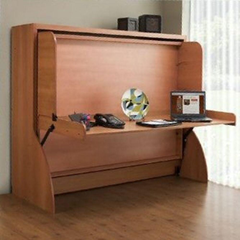 Rockler Introduces Convertible Bed And Desk Kit New Hiddenbed Murphybeddesk Murphy Bed Desk Bed Desk Murphy Bed