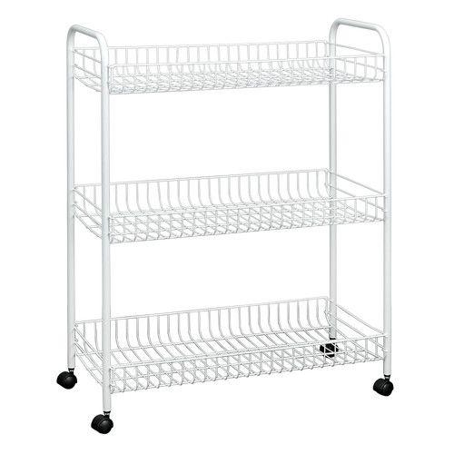 3 Tier Grande Utility Cart Household Essentials Kitchen Storage