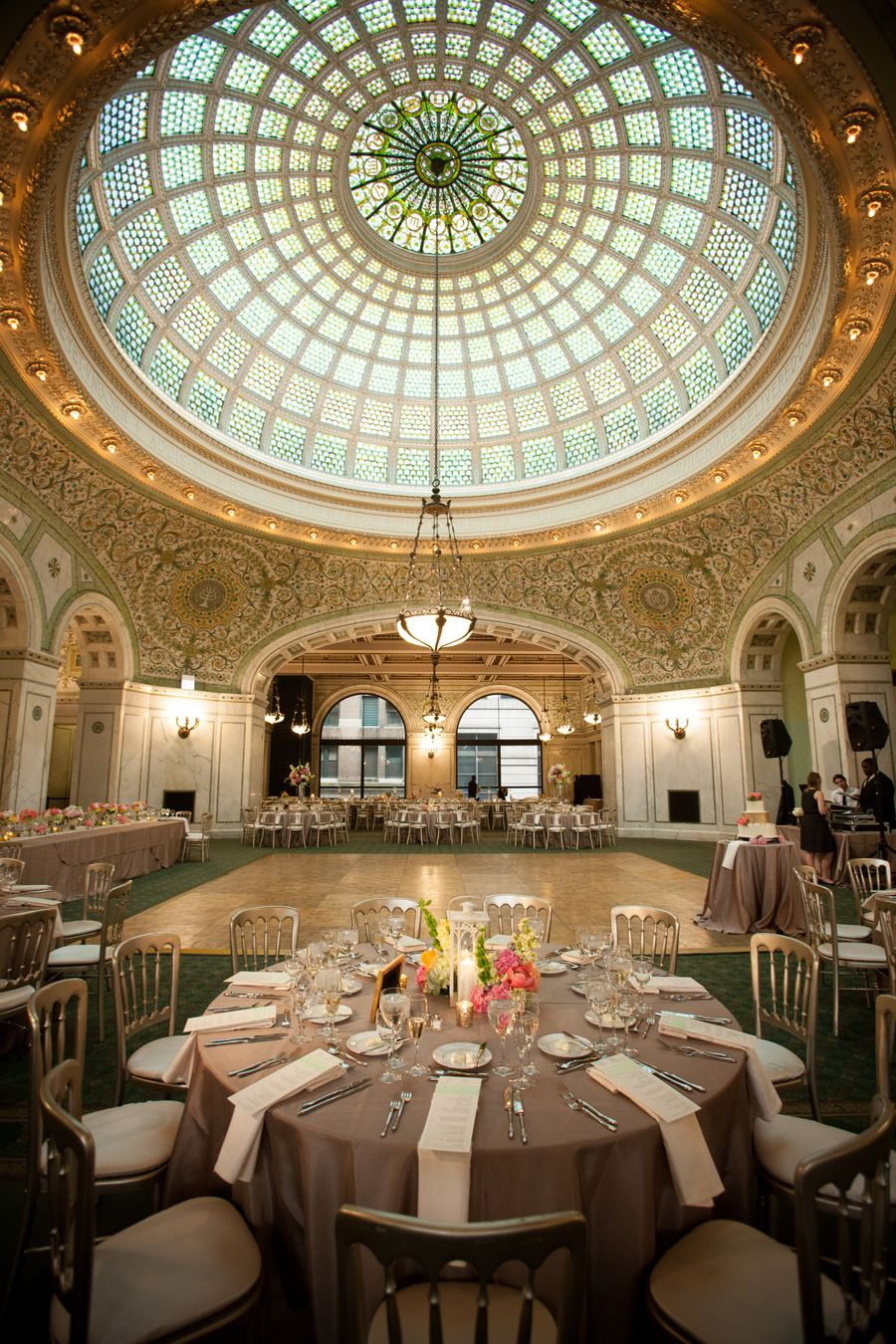 Classic Chicago Cultural Center Wedding Chicago cultural