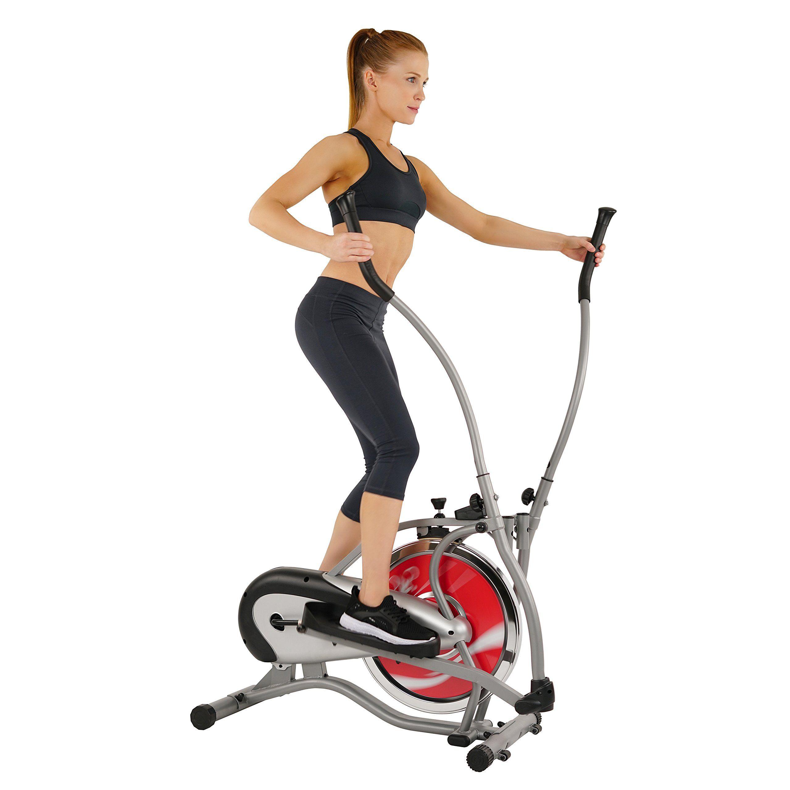 Sunny Health and Fitness SFE1405 Flywheel Elliptical