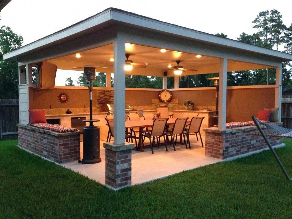 Outdoor Kitchen And Bar Kitchenideas Outdoorkitchenideas Outdoorliving Familygathering Smallspace Backyard Garden Backyard Backyard Patio Outdoor Patio