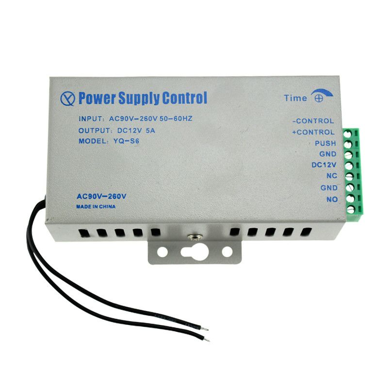 Electric DC12V/5A AC110~260 Power Supply with high quality