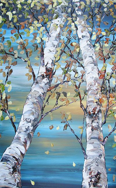 Maya Eventov Birch Tree Art Tree Art Art Drawings Beautiful