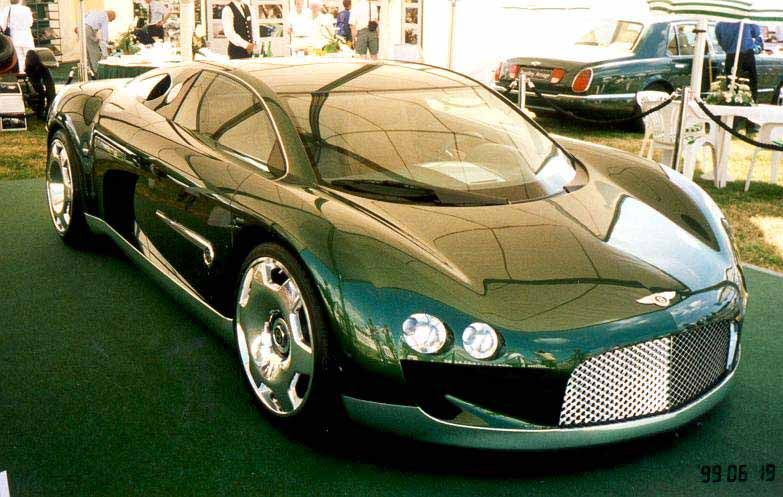 1999 Bentley Hunaudieres Concept.. One Can Only Wish.