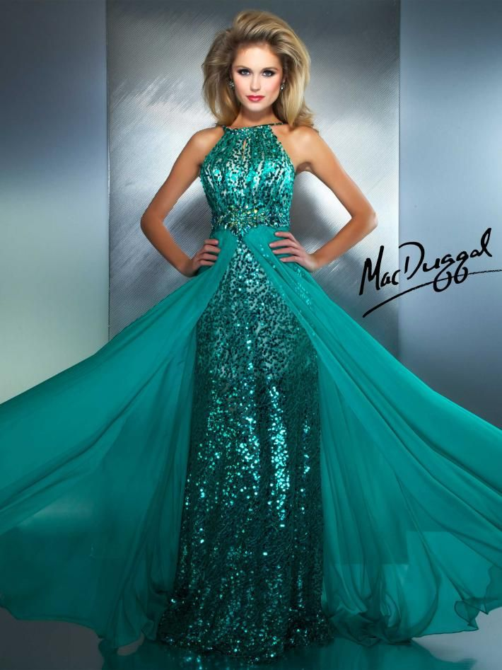 Jade Gown with Extensive Beading | Mac Duggal 78759M | I LOVE THIS ...
