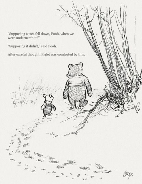 The Buddhist Rule About Worrying With Images Pooh Quotes
