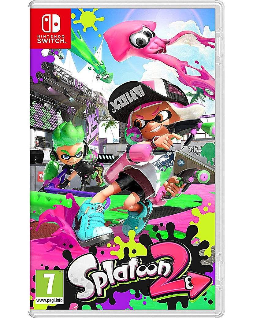 Splatoon 2 Products In 2018 Nintendo Juegos Gamers