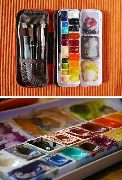Which Plein Air Watercolor Palette Paintbox Wetcanvas Plein