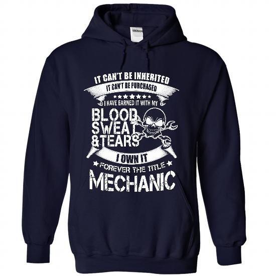 MECHANIC T-Shirt Hoodie Sweatshirts iao. Check price ==► http://graphictshirts.xyz/?p=81497