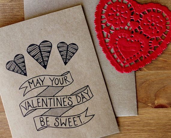 May Your Valentines Day Be Sweet Valentine Card – Sweet Valentine Card