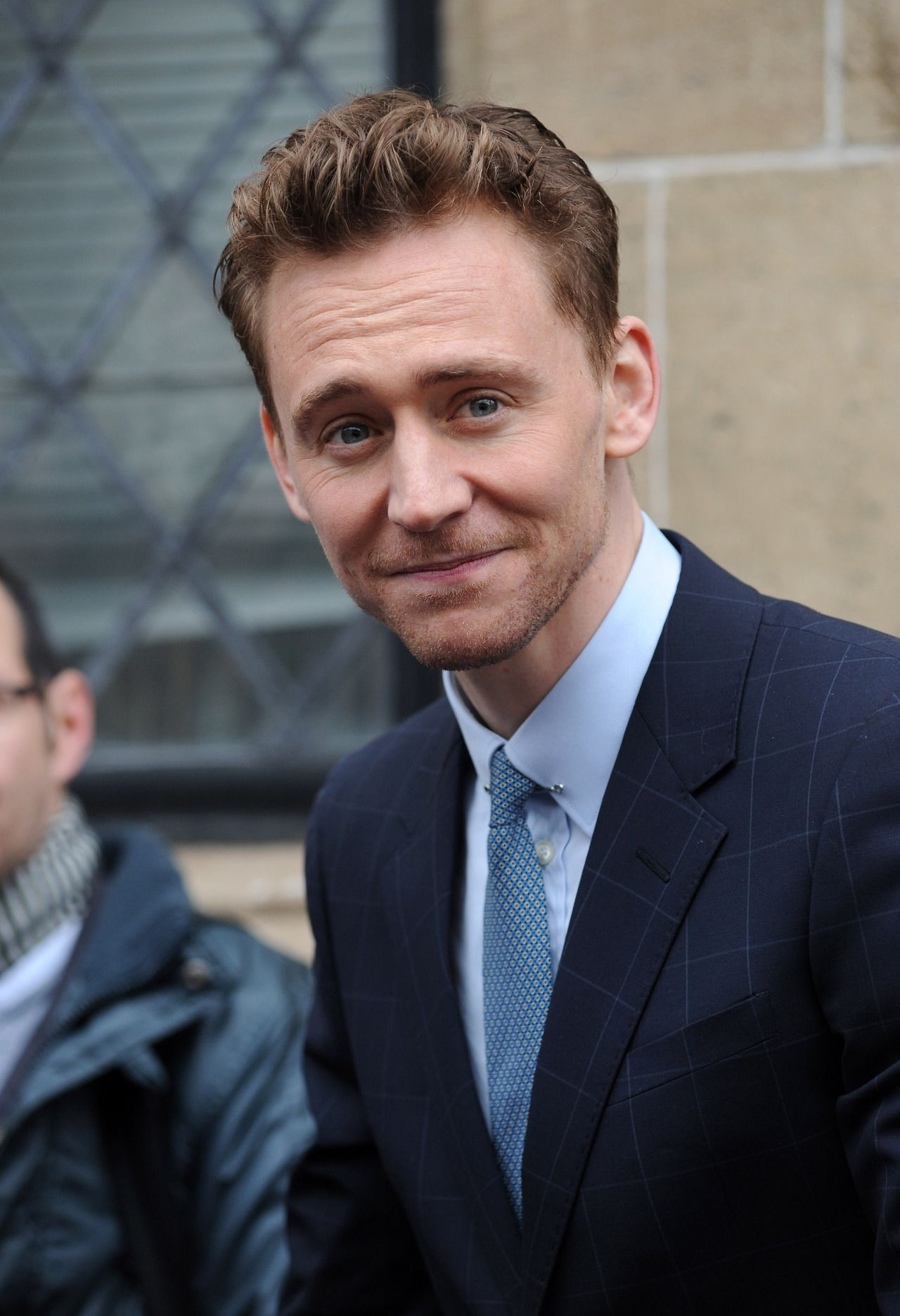 Tom Hiddleston at ITV Studios for This Morning on April 11, 2013