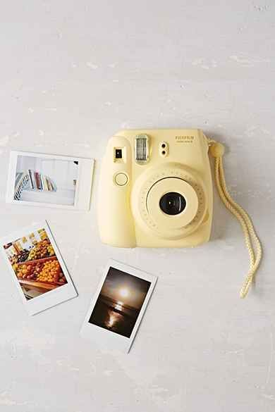 Yellow Polaroid Camera Instax Mini Camera Polaroid Instax Mini