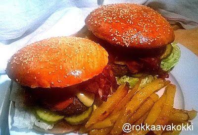 @rokkaavakokki: Burgereita, ranuja ja rock'n rollia, ravintolapäiv...