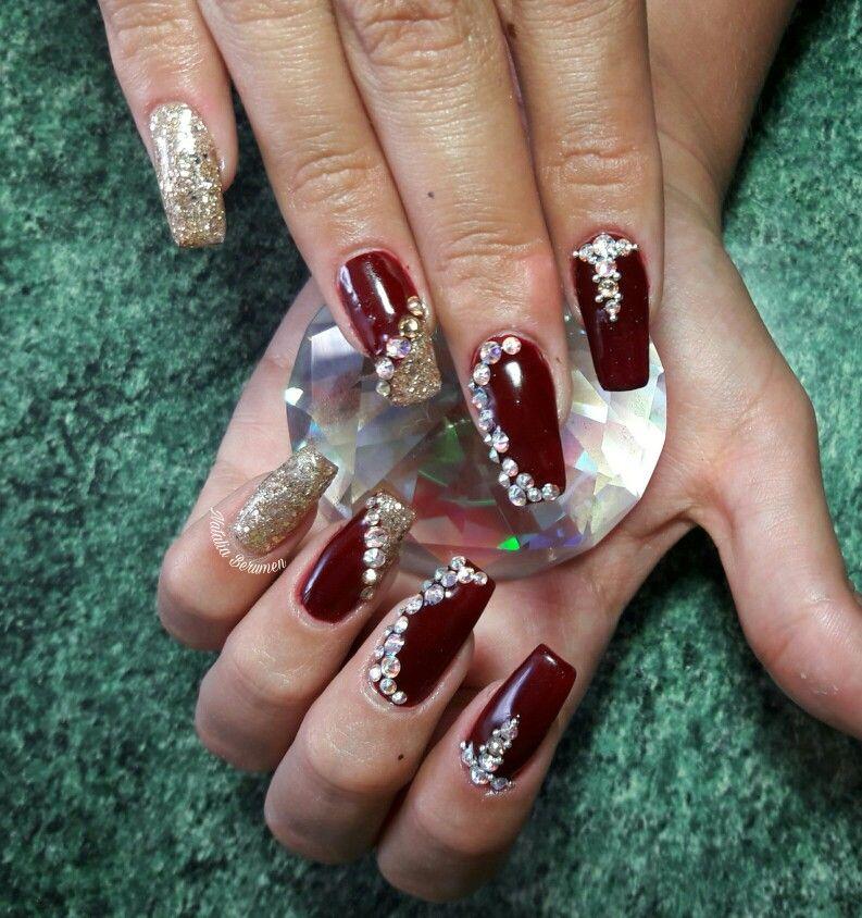 Pin de Sayes Qs en uñas | Pinterest | Diseños de uñas, Uñas acrílico ...