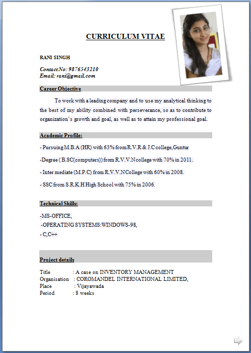 Resume Format Latest Format Latest Resume Resumeformat Resume Format Free Download Free Resume Format Downloadable Resume Template
