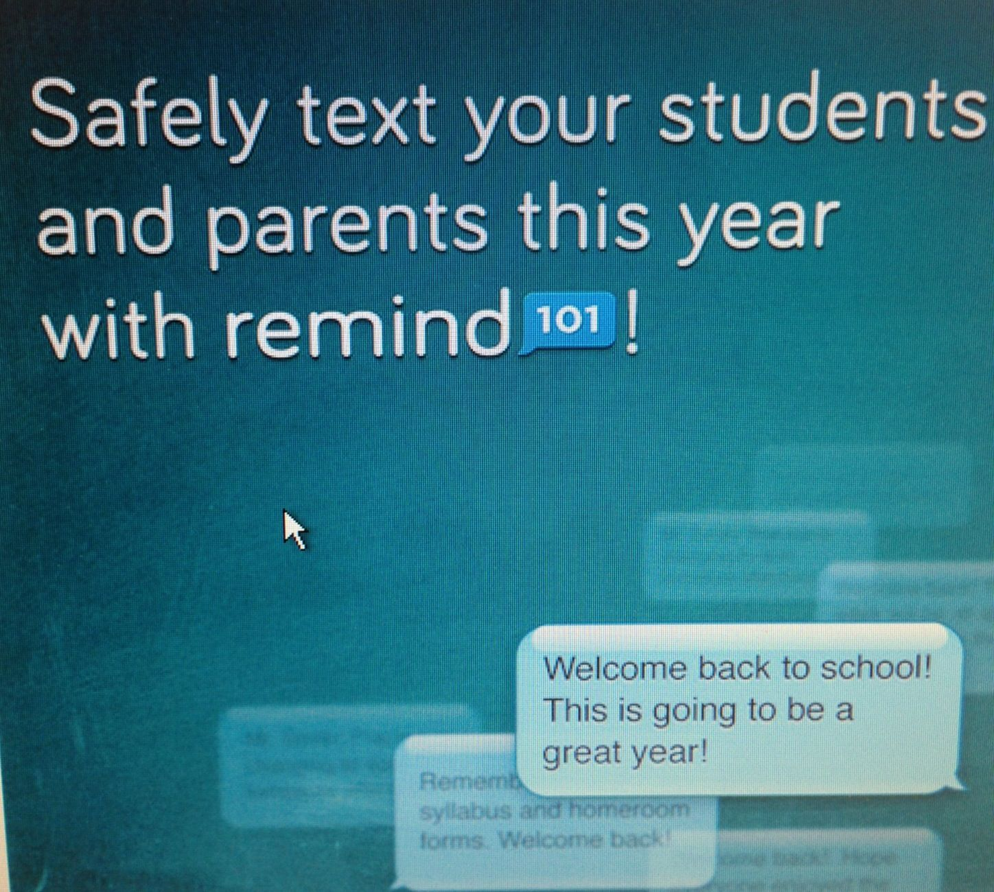 Remind101 As I Wait For School To Begin My List Continues