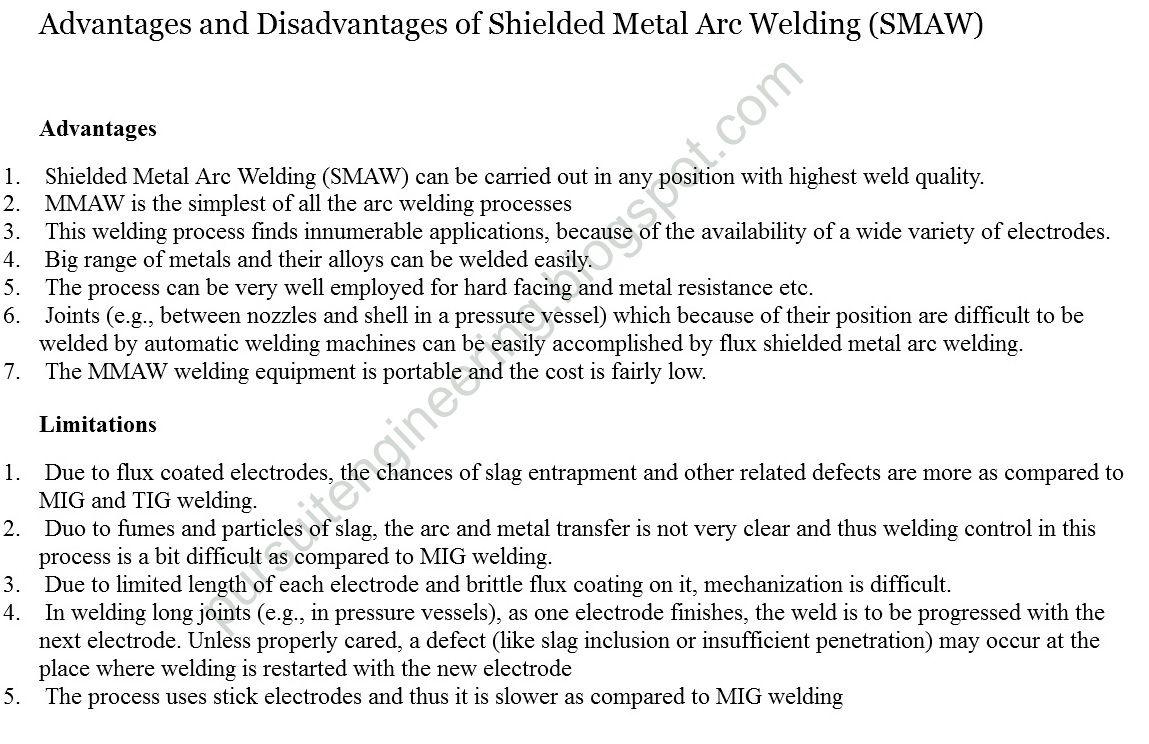shielded metal arc welding pdf