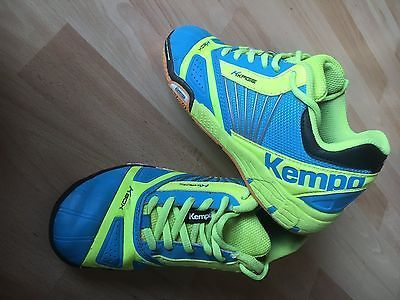 pretty nice 53a0d 45894 Kempa Handball Sport Turn Halle Unisex Schuhe Gr.34 Neon ...