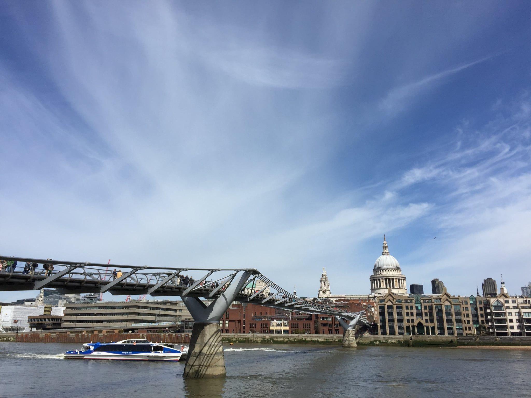 13 Places Every Harry Potter Fan Must Visit In The Uk Millennium Bridge Harry Potter Travel Harry Potter Travel Bucket List