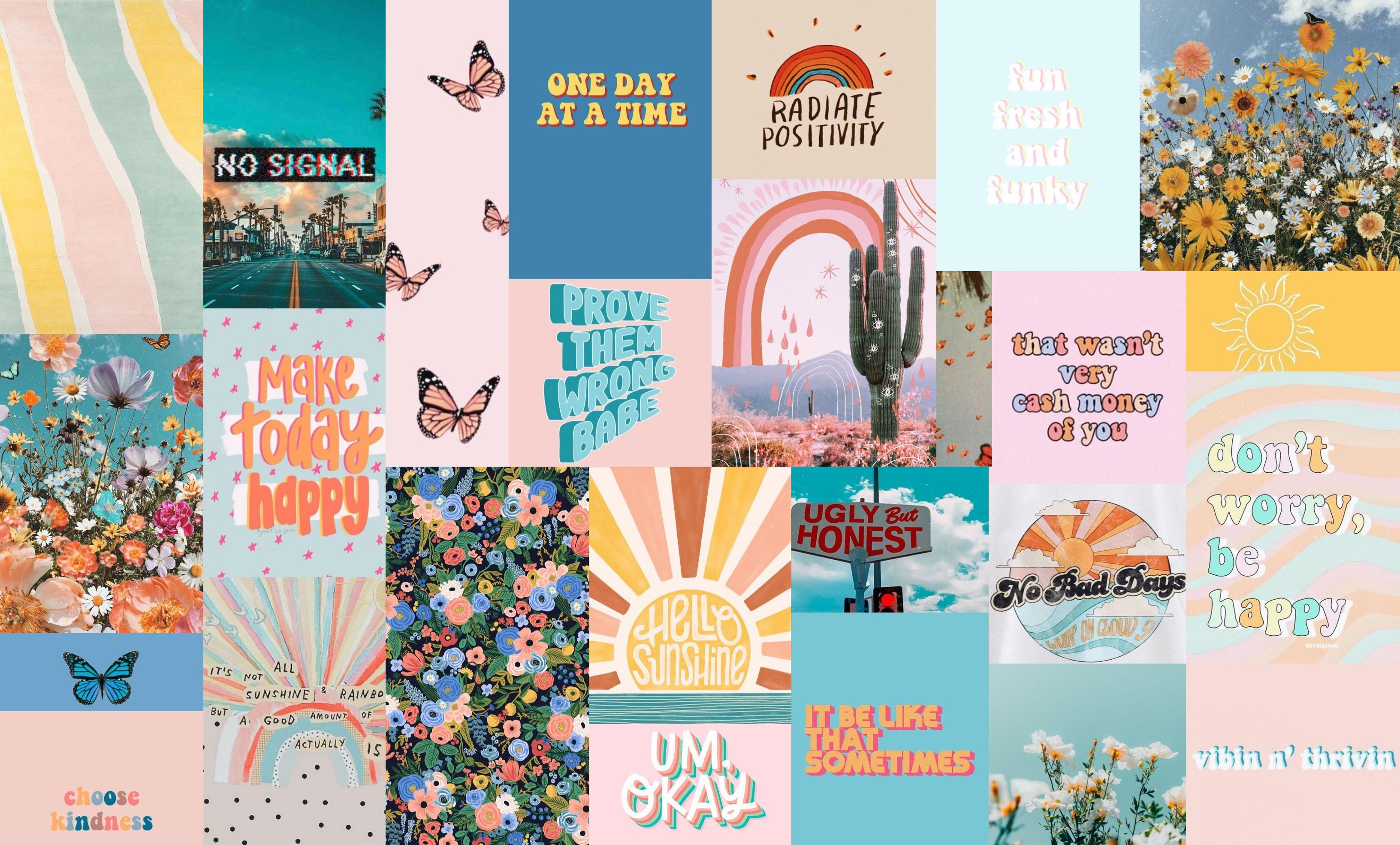Wallpaper Lockscreen Desktop Blue Ocean Collage Vsco Peace Aesthetic Pink In 2020 Aesthetic Desktop Wallpaper Desktop Wallpaper Art Laptop Wallpaper