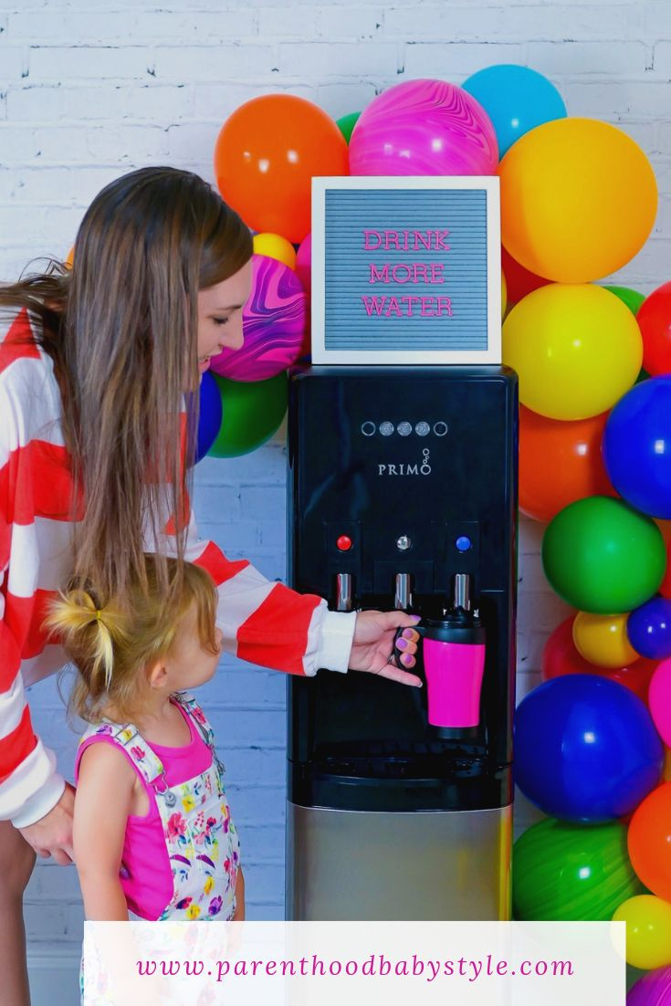 Drink more water with a primo bottomloading dispenser