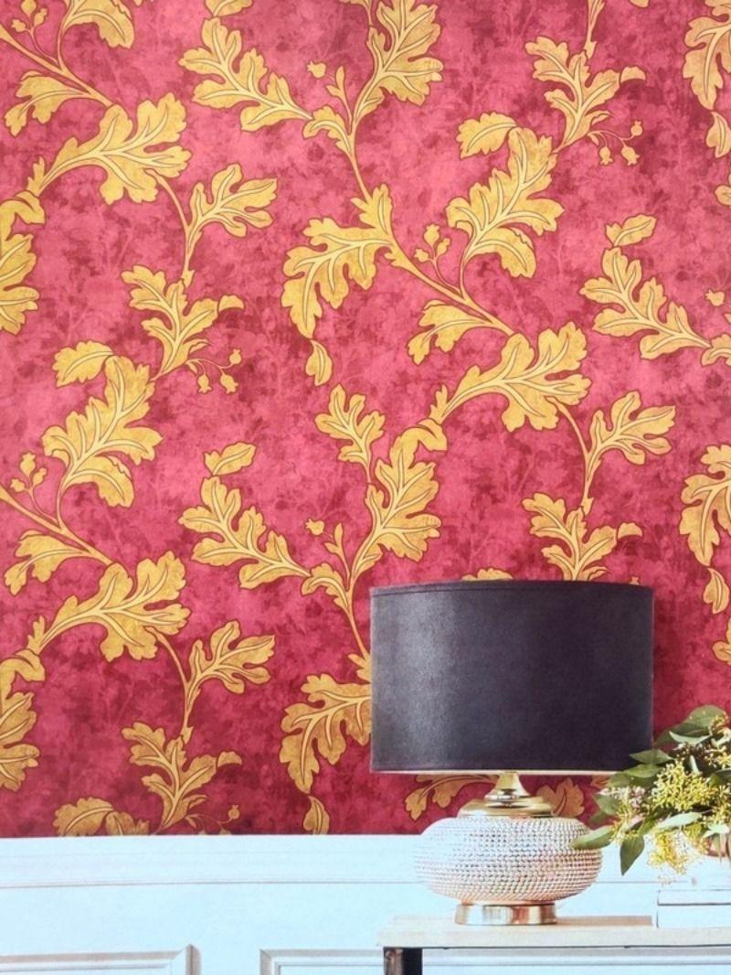 Pvc Vinyl Decorative Wallpaper With Floral Pattern Wallpaper Decor Floral Wallpaper Buy Wallpaper Online