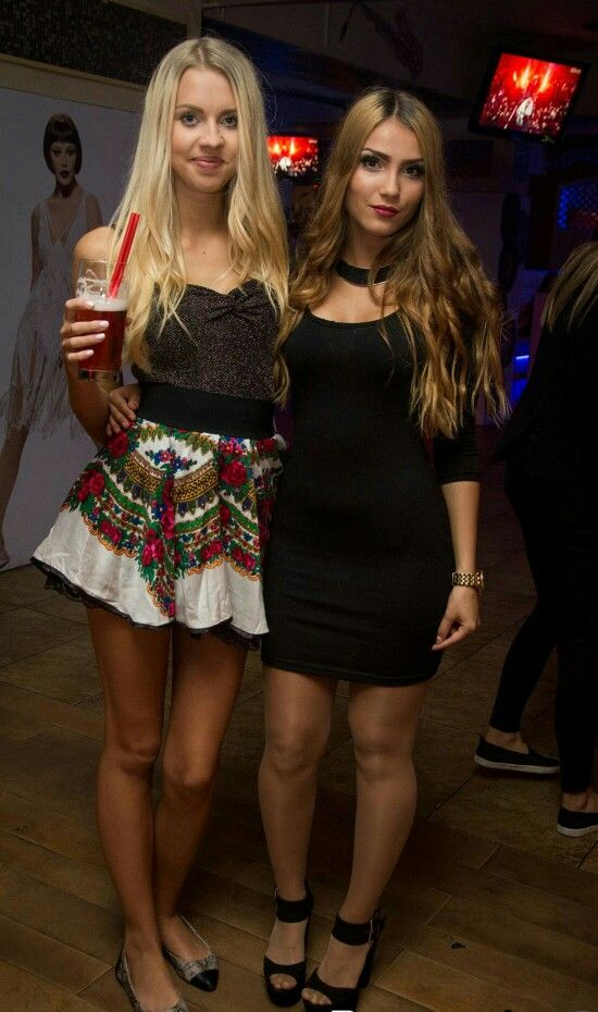 nice polish girls in nice polish skirt and pantyhose | Nów