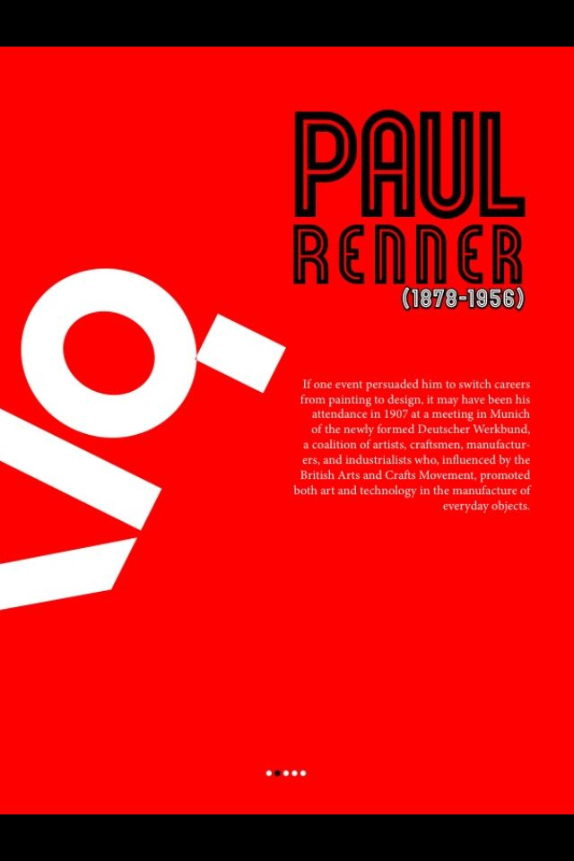 Paul Renner editorial in the style of Neville Brody